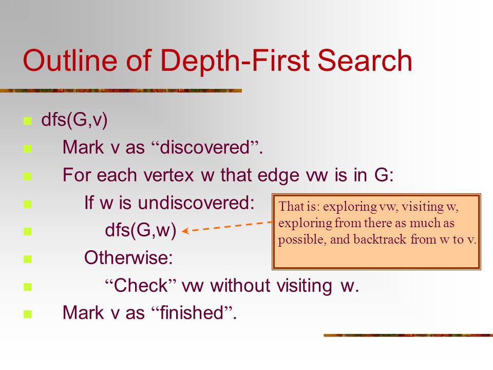 Properties about Active Intervals(4) If edge vw  E G, then vw is a cross edge iff.