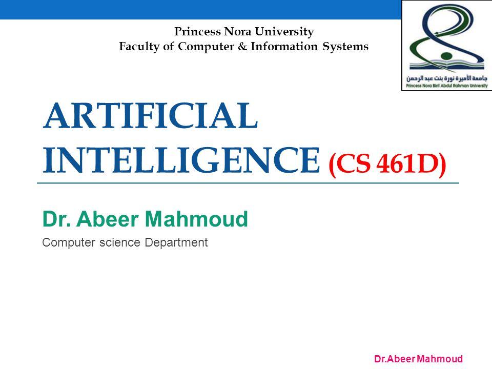 Dr.Abeer Mahmoud 22 Depth-limited search = depth-first search with depth limit l, i.e., nodes at depth l have no successors Recursive implementation: