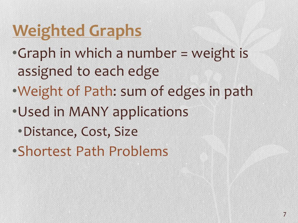 18 Paths in Directed Graphs Directed Path: sequence of edges from vertex A to B, following edge direction Length of Path: number of edges on path Simple Directed Path: No repeated vertices Directed cycle Strongly Connected: A directed multigraph which contains a path from vertex A to B for every pair of vertices Means A to B & B to A