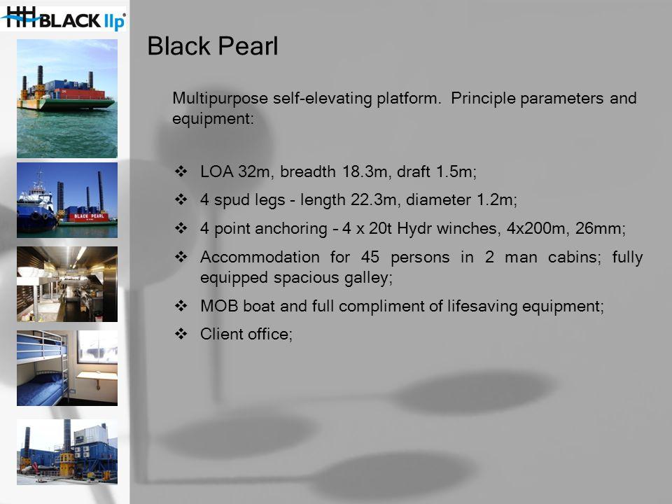 Black Urchin Fast utility vessel.