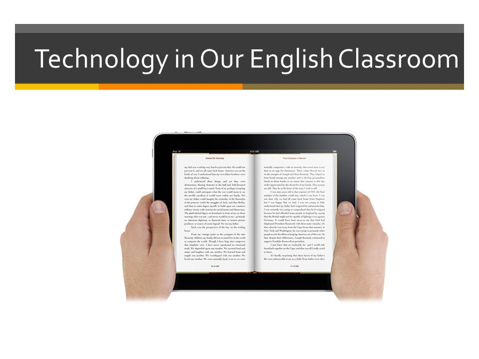 Technology in Our English Classroom