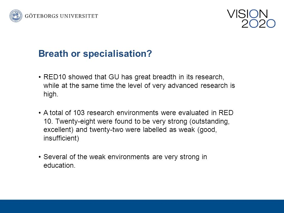 Breath or specialisation.