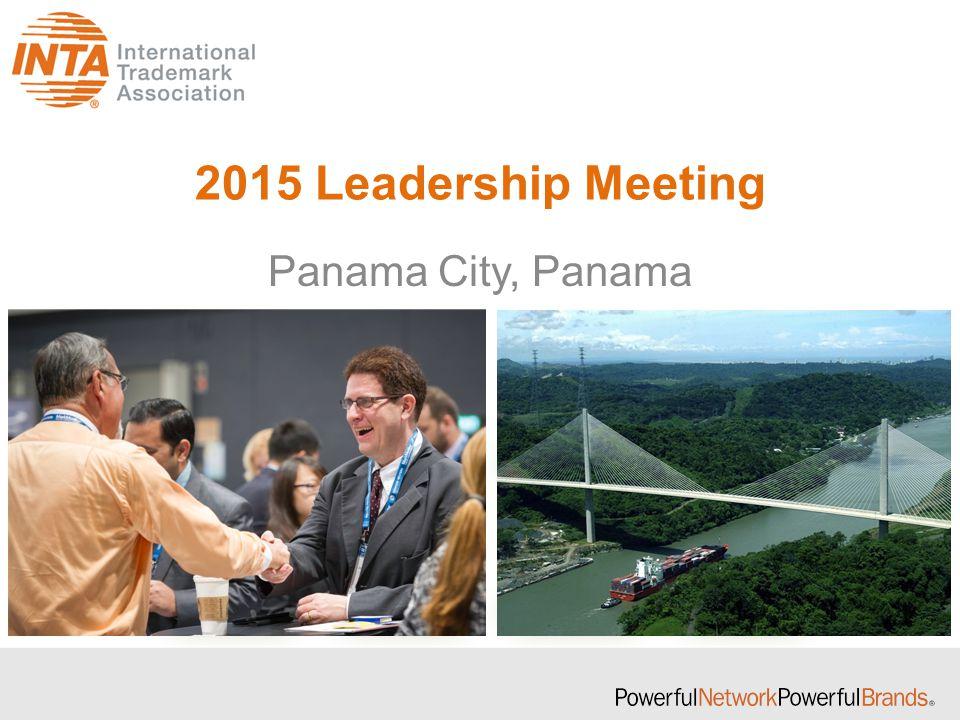 2015 Leadership Meeting Panama City, Panama