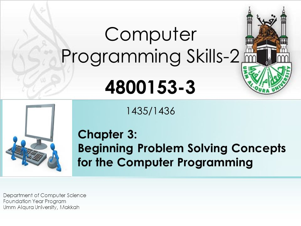 The Objectives and the outcomes The Objectives: 1.To understand the basic concept of C programming.