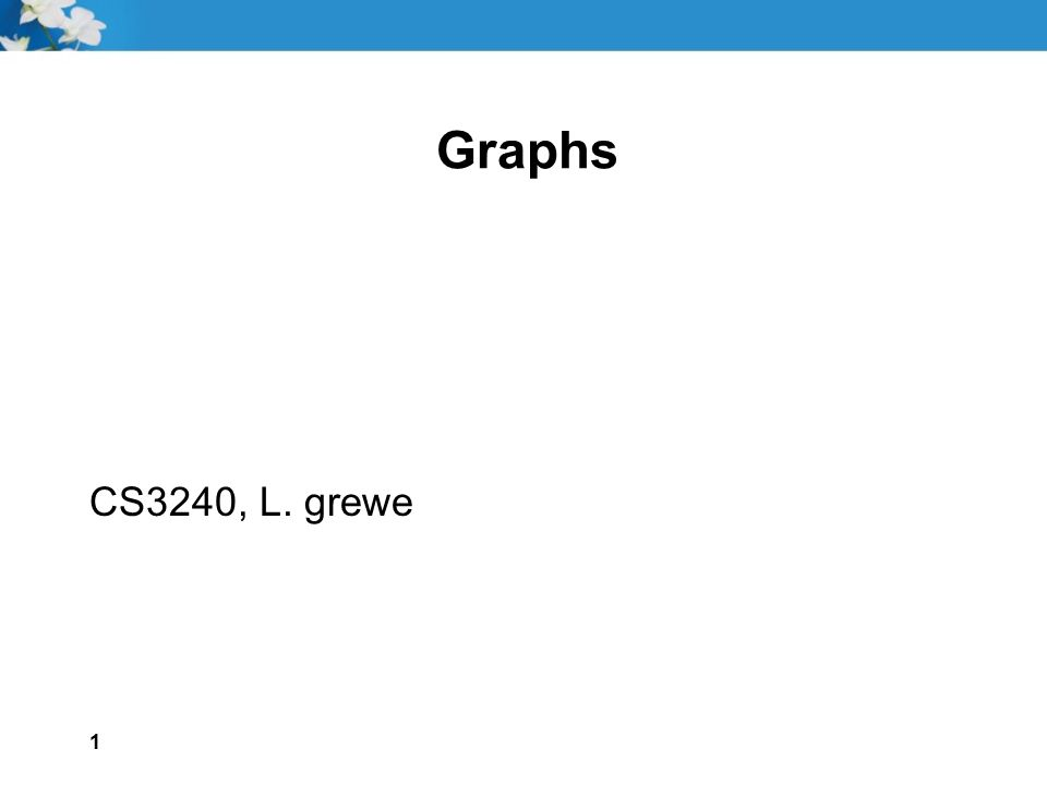 2 Goals Define the following terms related to graphs: Directed graphComplete graph Undirected graphWeighted graph VertexAdjacency matrix EdgeAdjacency list Path Implement a graph using an adjacency matrix to represent the edges