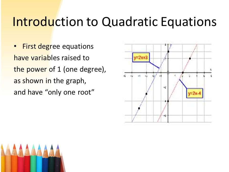 What do we learn in this module . What are Quadratic Equations .