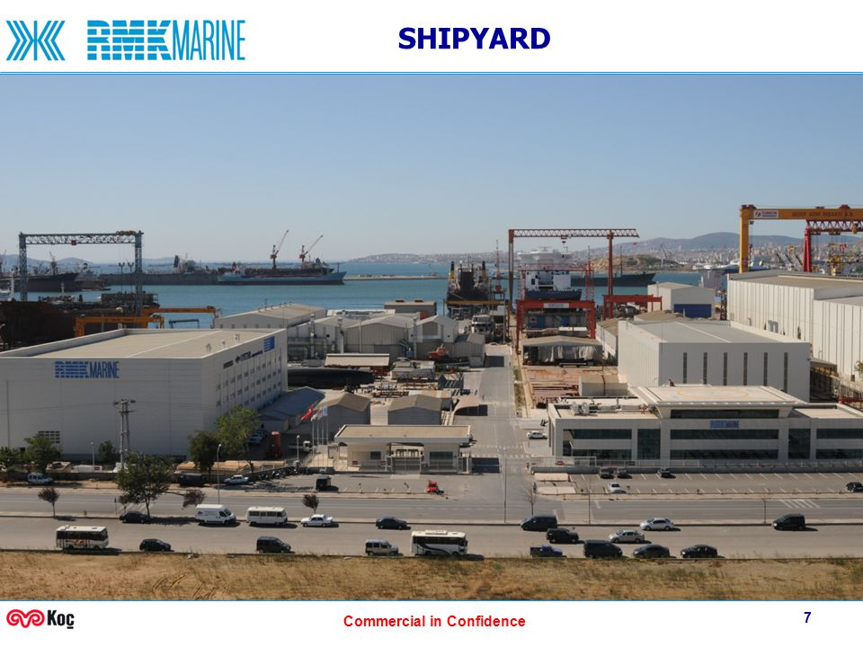 Commercial in Confidence 7 SHIPYARD