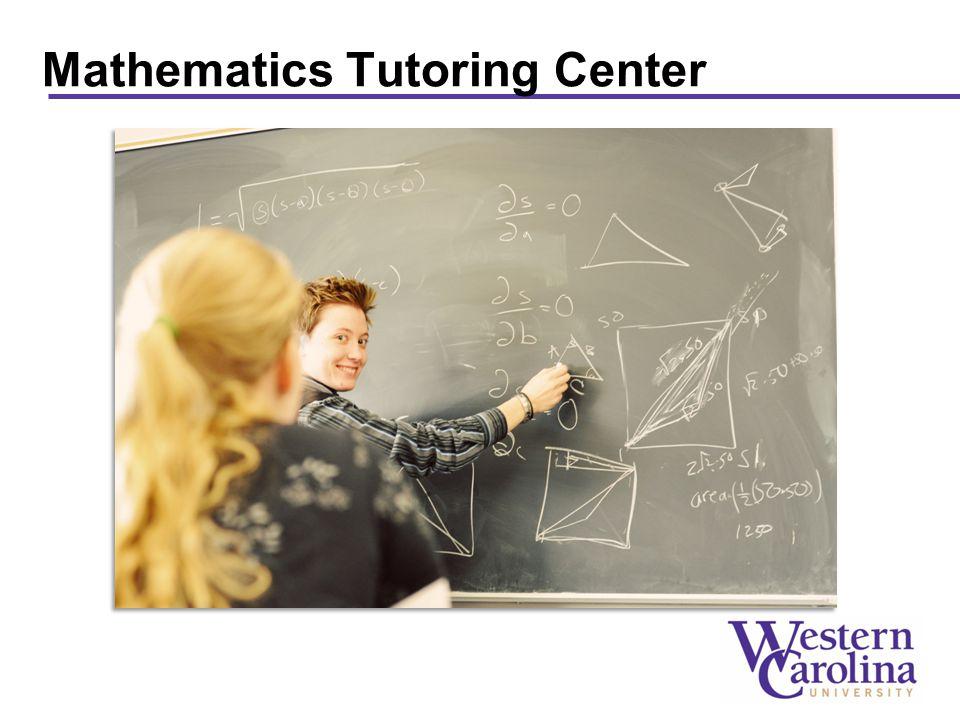 Mathematics Tutoring Center