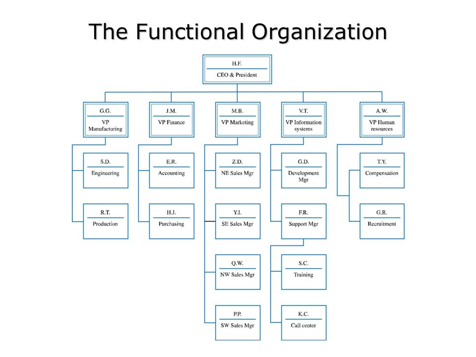 Organization and Project Planning – The Formal Organization Advantages –Clear authority and responsibility –Improved communication –High level of integration Disadvantages –Project isolation –Duplication of effort –Projectitis The Project Organization