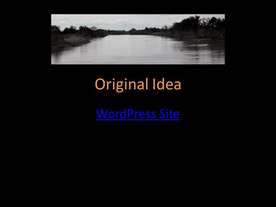 Original Idea WordPress Site