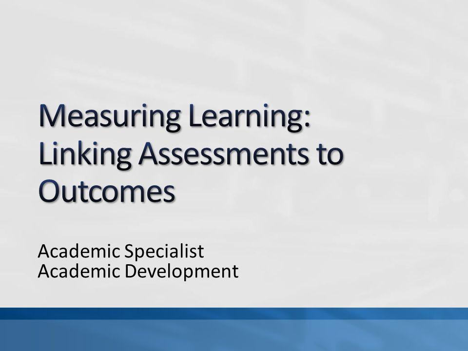 Academic Specialist Academic Development