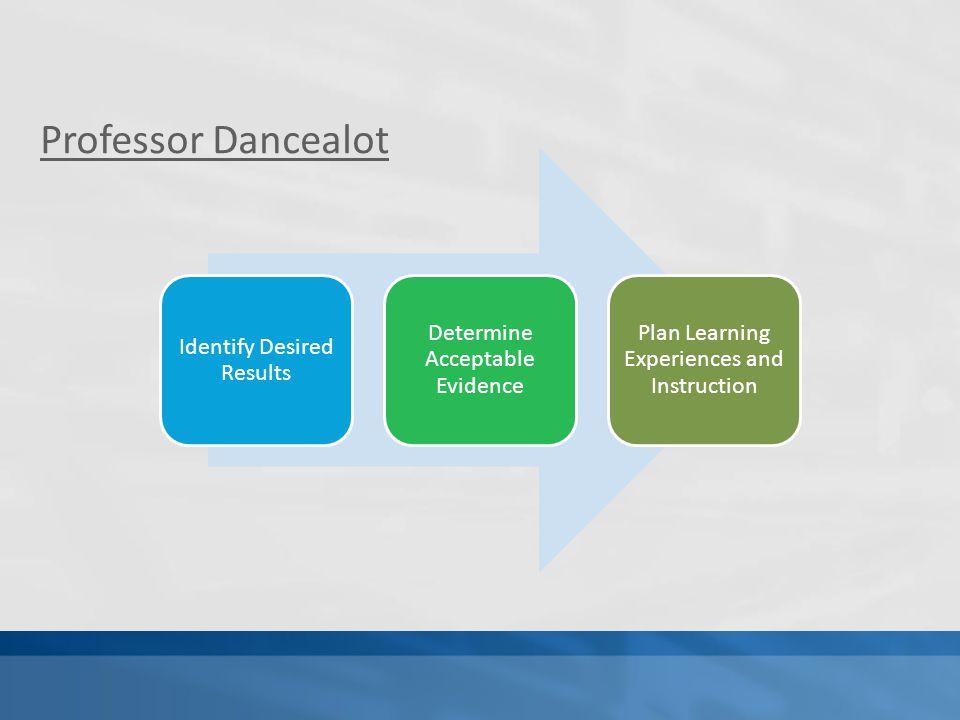 Professor Dancealot