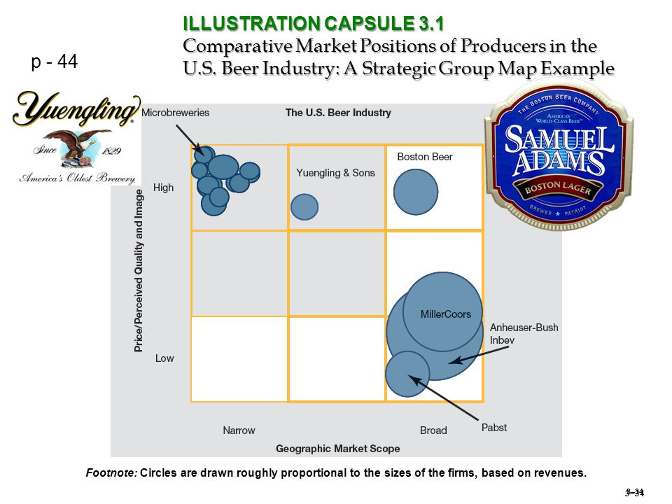 3–34 ILLUSTRATION CAPSULE 3.1 Comparative Market Positions of Producers in the U.S.