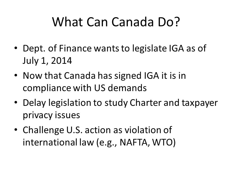 What Can Canada Do.Dept.