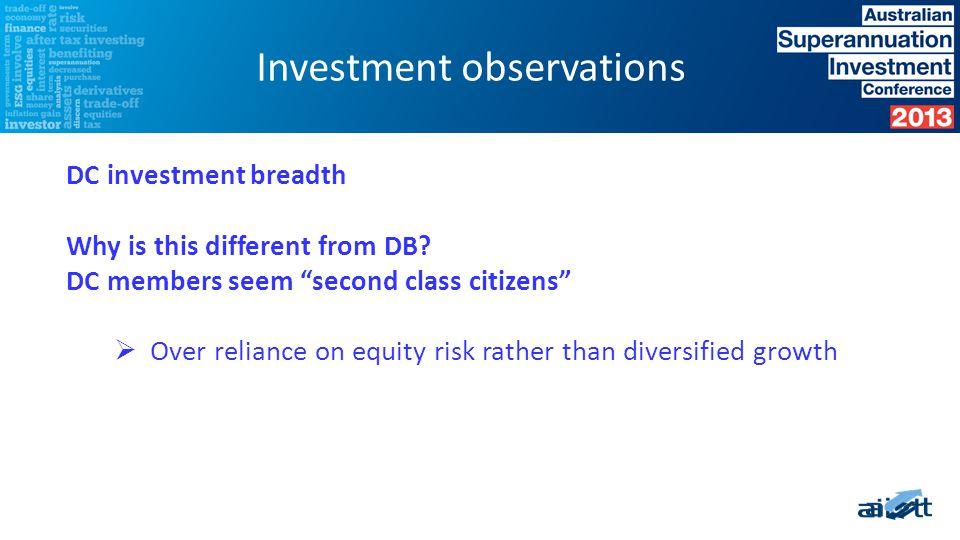 Capital allocation DOES NOT EQUAL risk Source: Blackrock