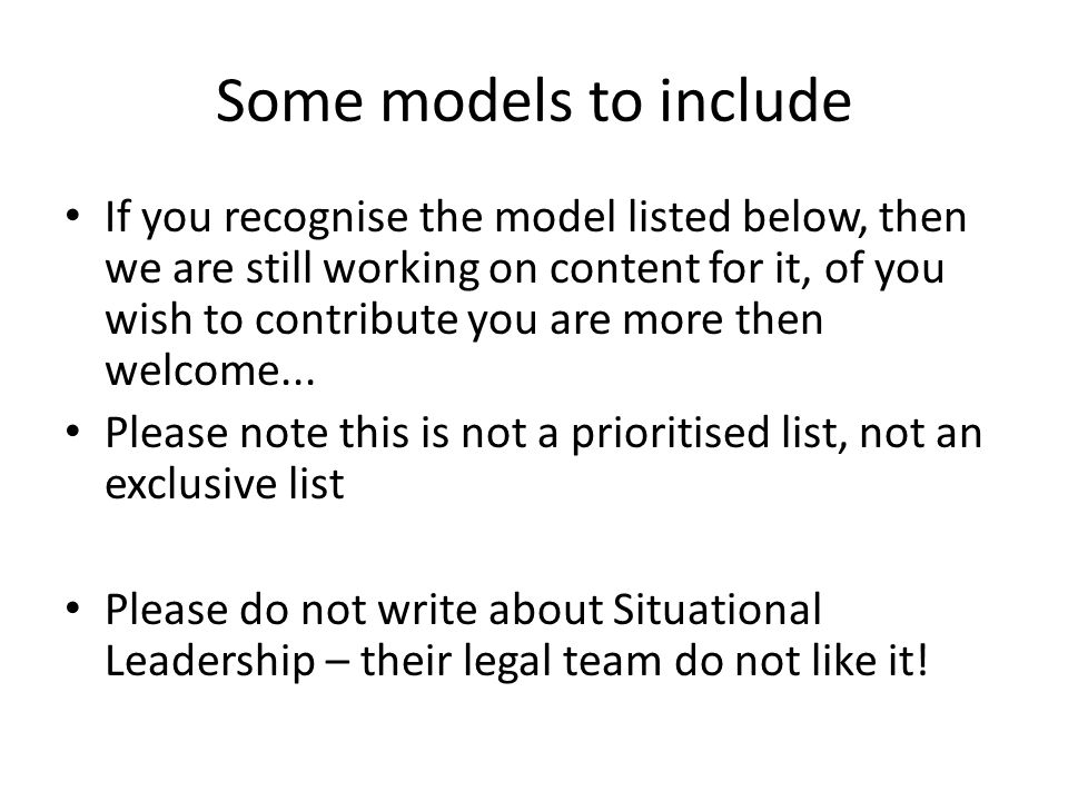 Some models to include If you recognise the model listed below, then we are still working on content for it, of you wish to contribute you are more then welcome...