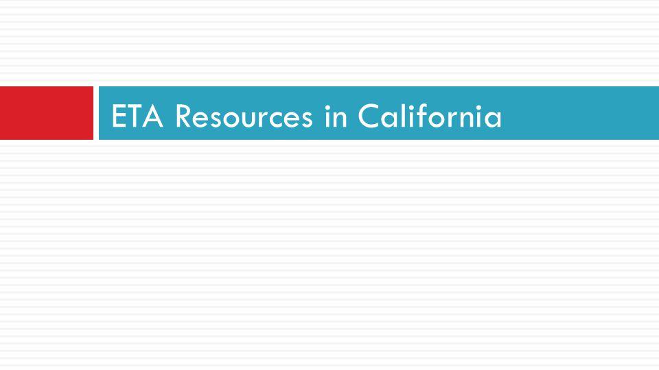 ETA Resources in California
