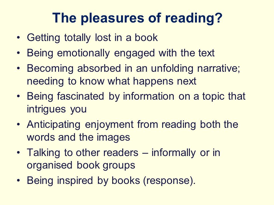 What is different in the new reading curriculum.