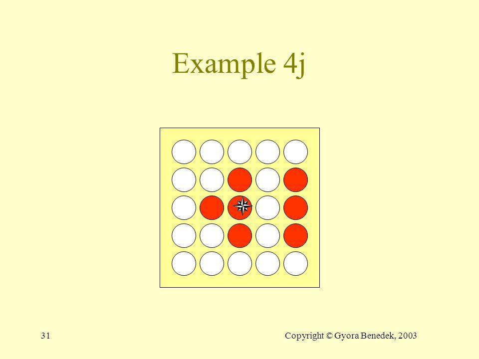 30Copyright © Gyora Benedek, 2003 Example 4i