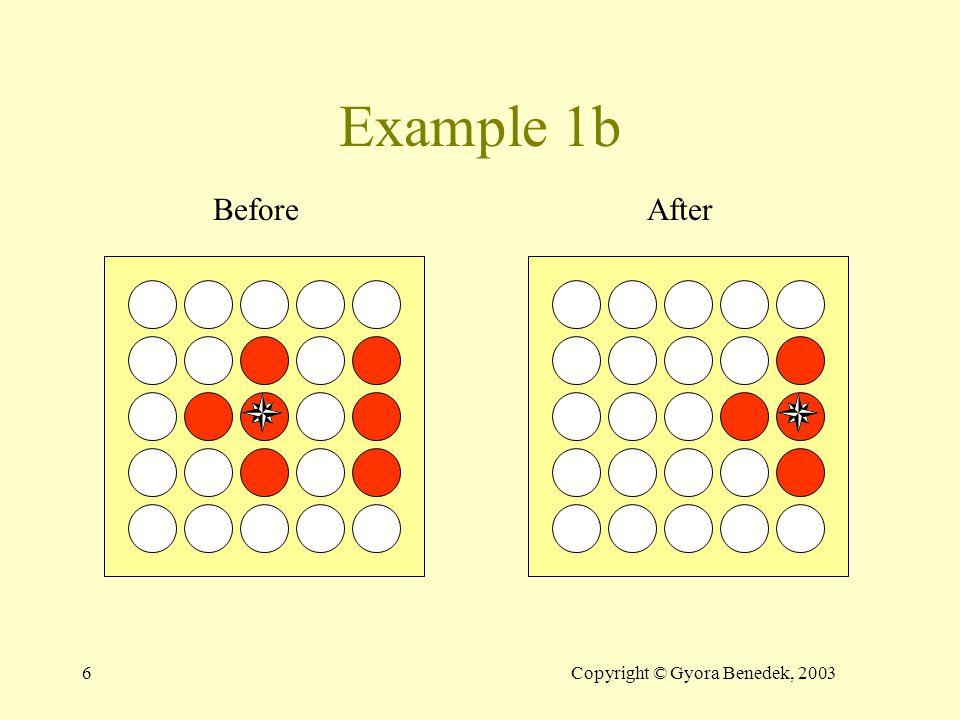 46Copyright © Gyora Benedek, 2003 BFS demo 0 11 22 Open T AB CD E F B,1 C,2 D,2 @While P1=A L=1