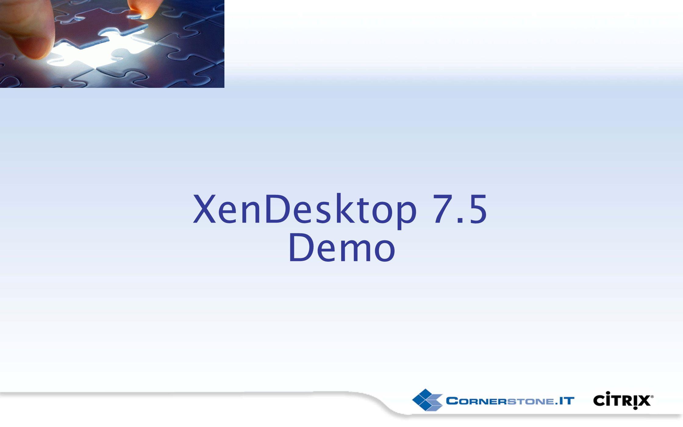 XenDesktop 7.5 Demo