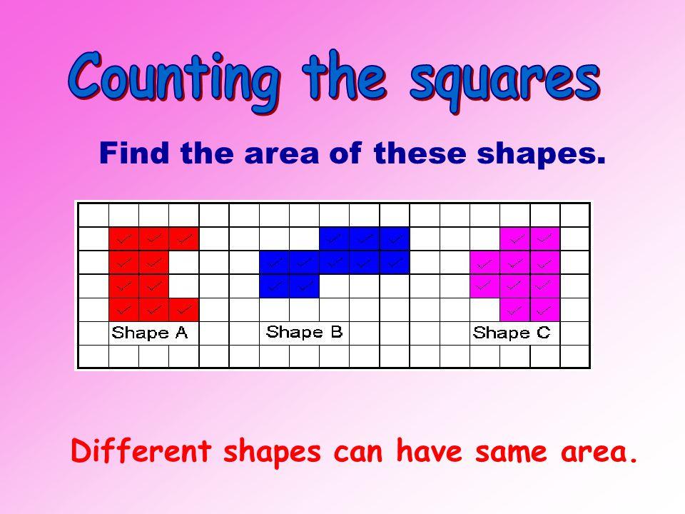 Area = _____ square units. 24