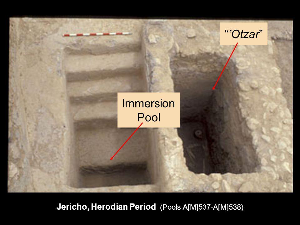 'Otzar Immersion Pool Jericho, Herodian Period (Pools A[M]537-A[M]538)