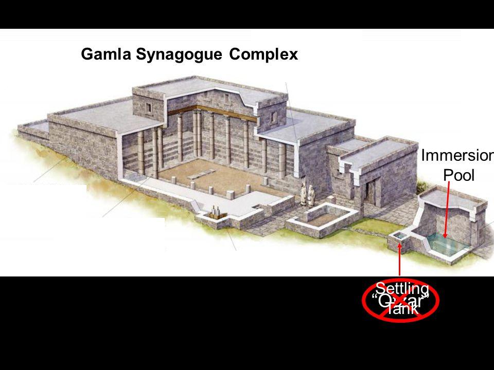 Immersion Pool Gamla Synagogue Complex Otzar Settling Tank