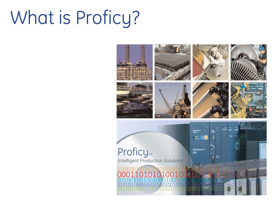 What is Proficy