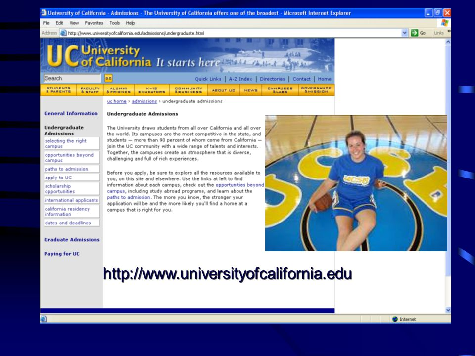 UC Application for Admission Priority Filing Period Nov.