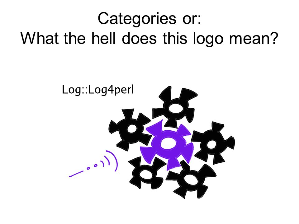 Categories or: What the hell does this logo mean