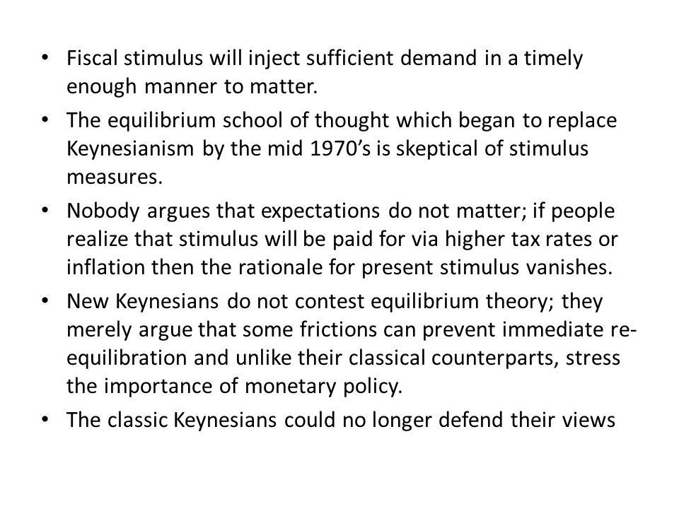 In view of the evident failure of their policies; Britain 30 years of anemic growth, the US economic misery of the 1970's foretold by Friedman in 1968.