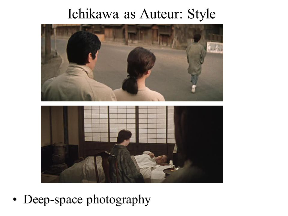 Ichikawa as Auteur: Style Deep-space photography
