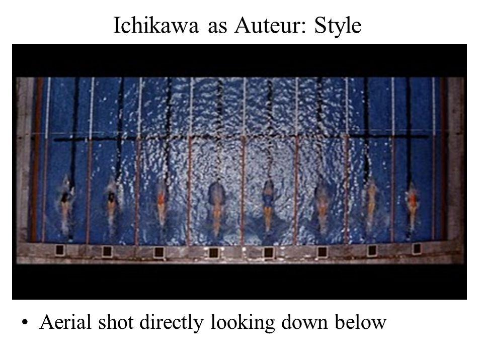 Ichikawa as Auteur: Style Aerial shot directly looking down below