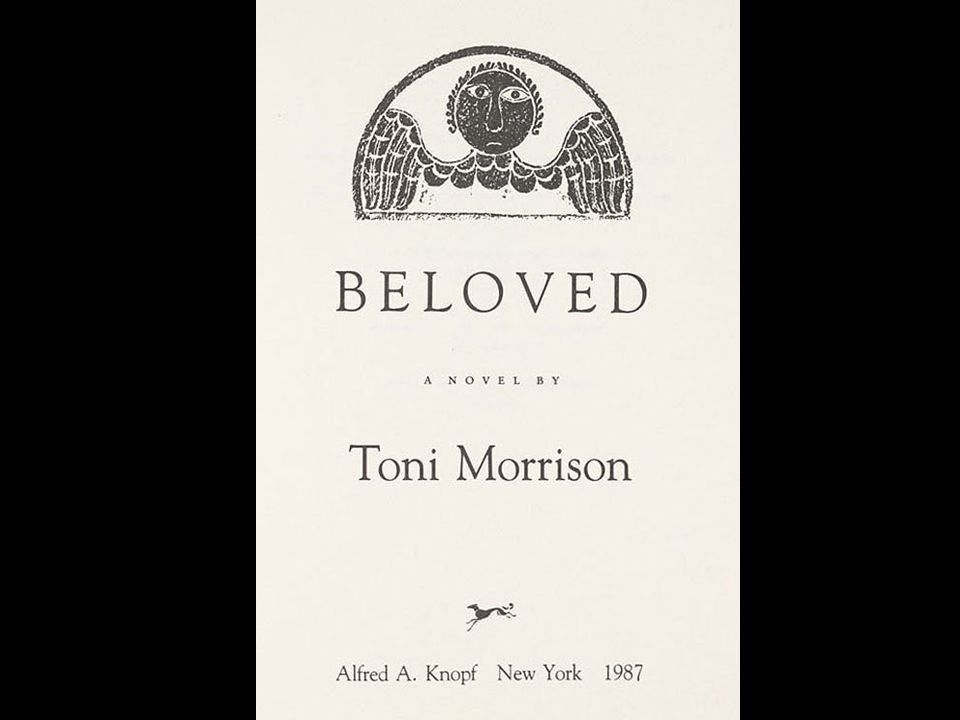 Markers Morrison underscores the presence of death by preceding the three sections of Beloved with grave sepulchers, which simultaneously direct the reader to the cemetery as an ancestral location.