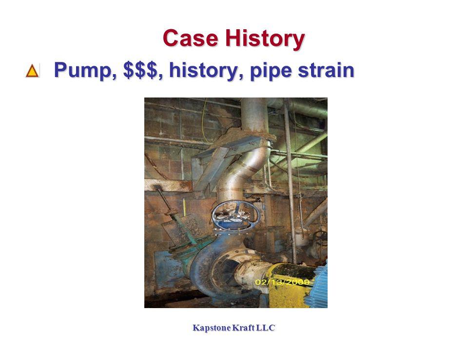 Kapstone Kraft LLC Case History Pump, $$$, history, pipe strain Pump, $$$, history, pipe strain