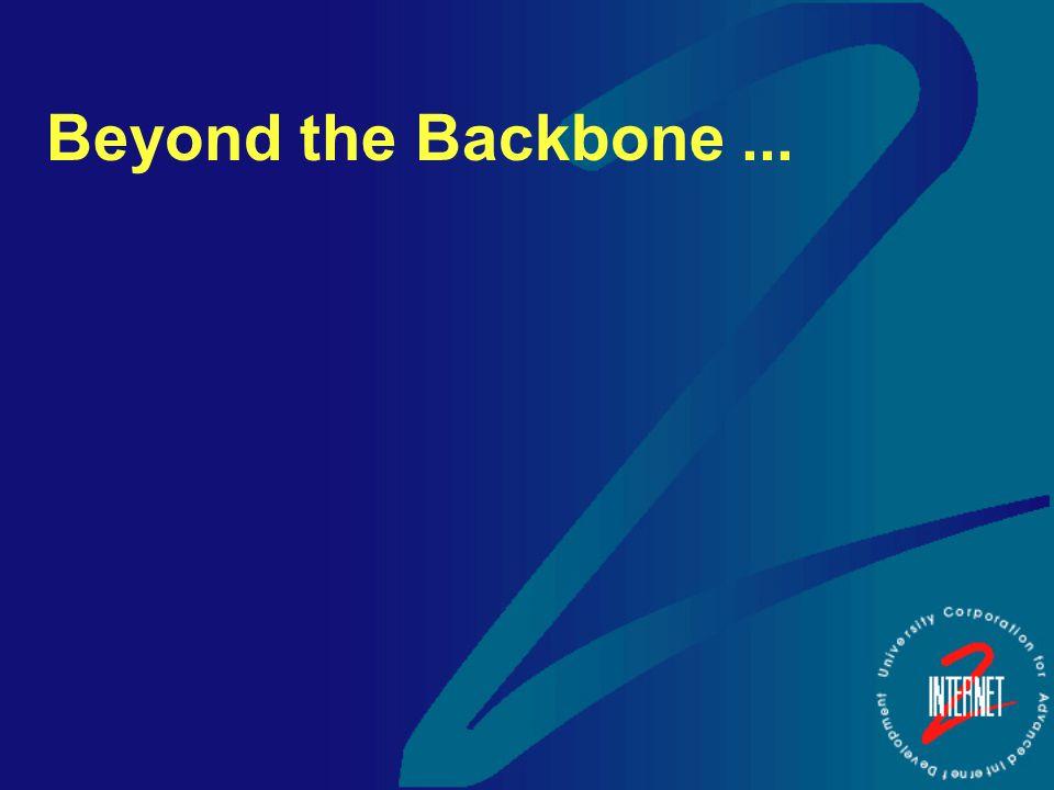 Beyond the Backbone...