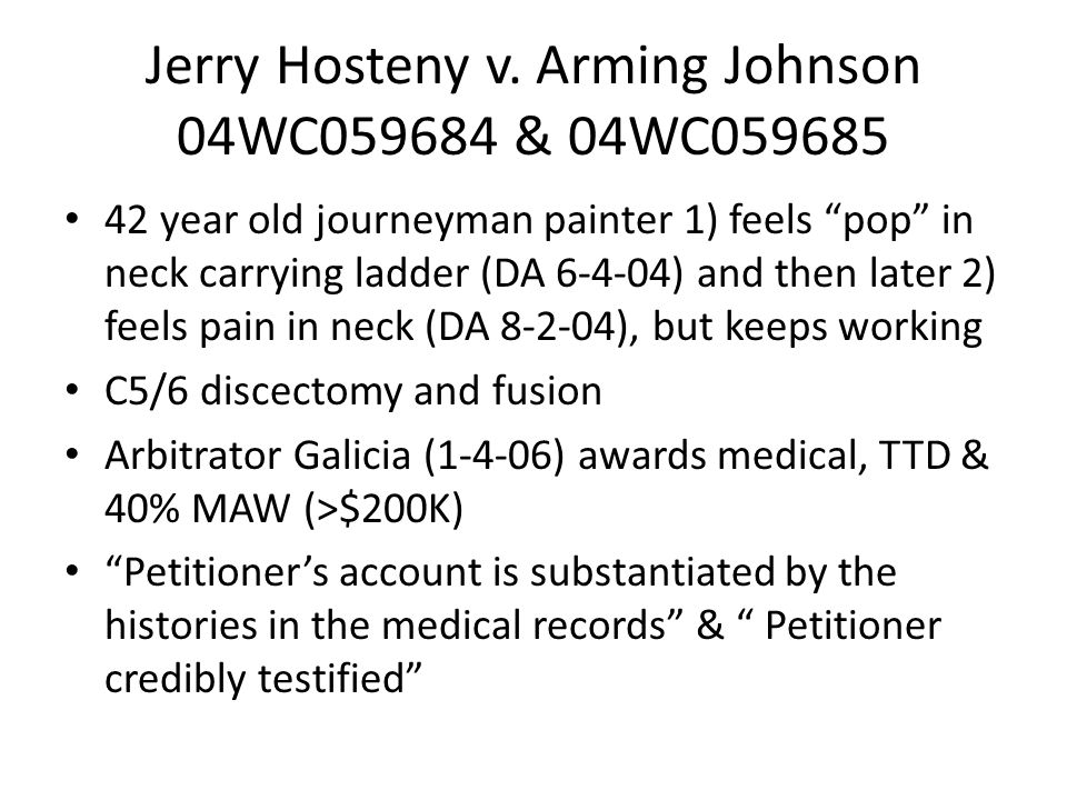 Jerry Hosteny v.