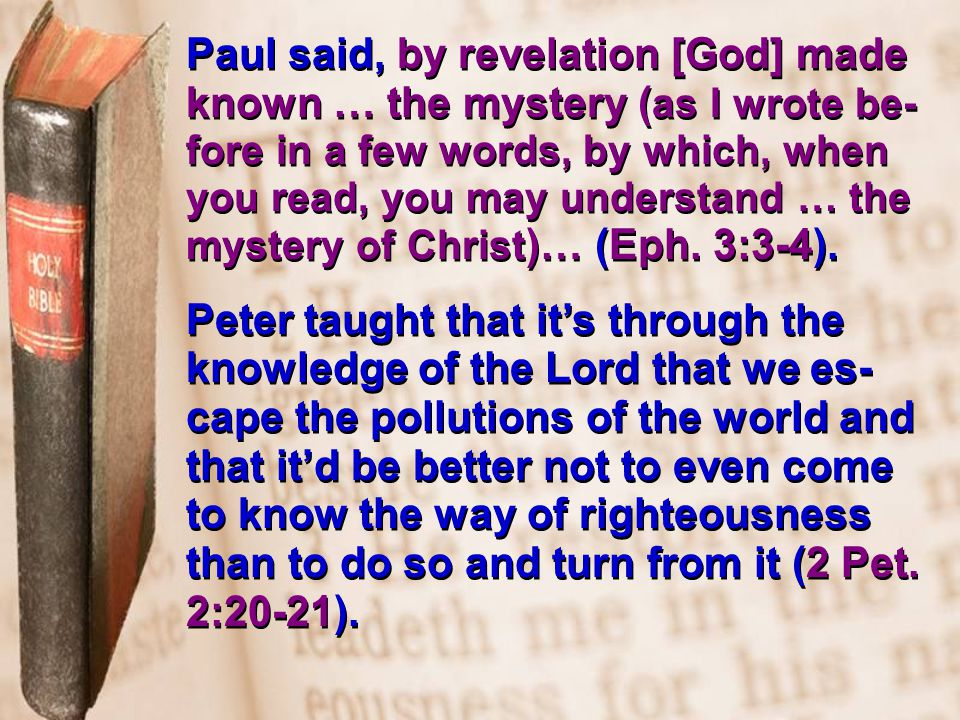 We need to have faith in the ability of God's Word, because it (and it alone) has the power to accomplish every moral & spiritual change necessary in the lives of men: the power… ~ to convert (Psa.