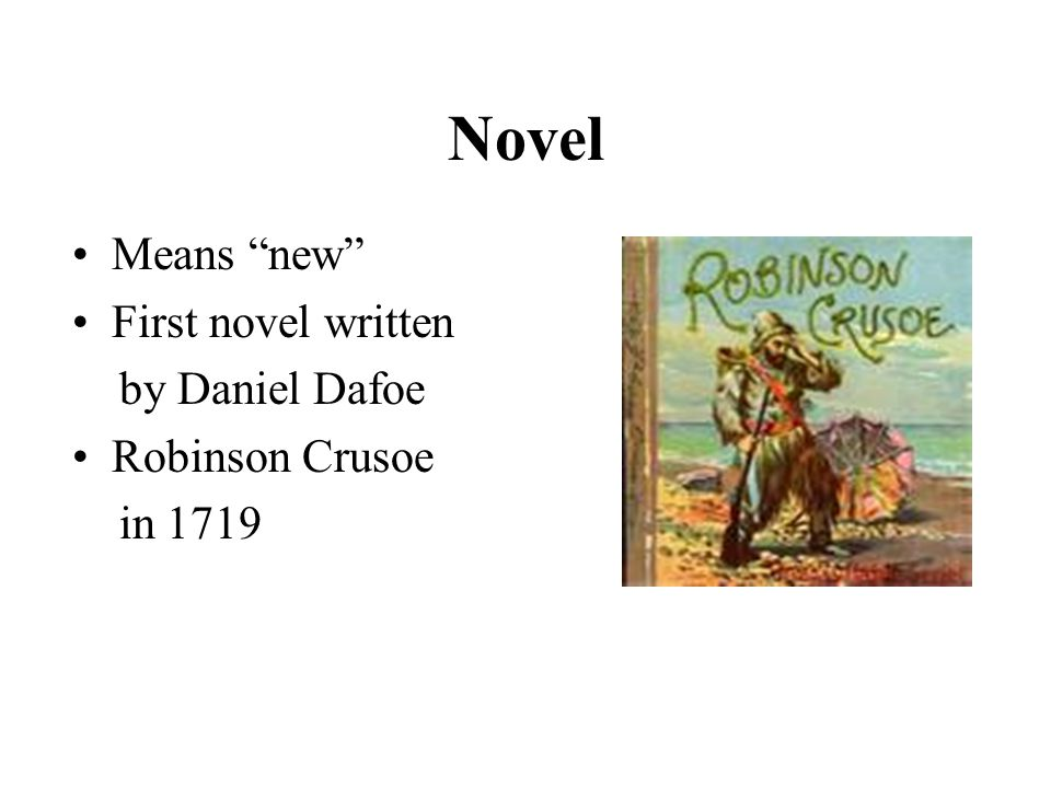 Elements of a Novel Setting: The time, place and environment in which a story takes place Plot: The series of events in a story that reveal the conflict, crisis and resolution Characters: The people (or things) that take part in the story.