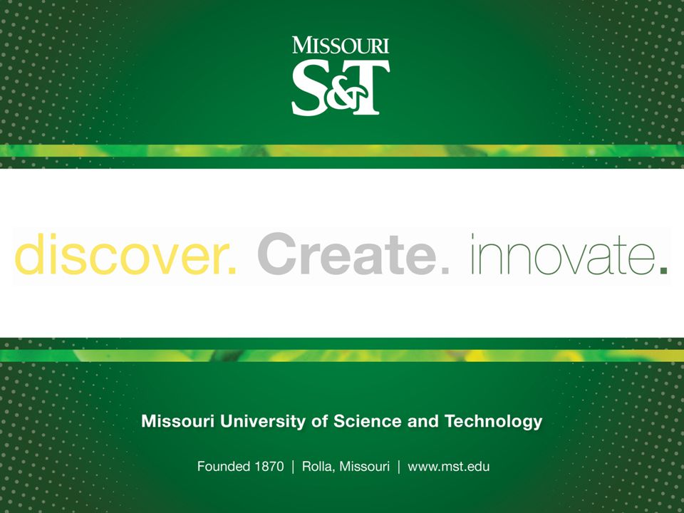 Missouri S&T can't beat out-of-state competitors on cost-of-attendance and scholarships alone.
