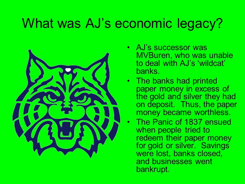 What was AJ's economic legacy.