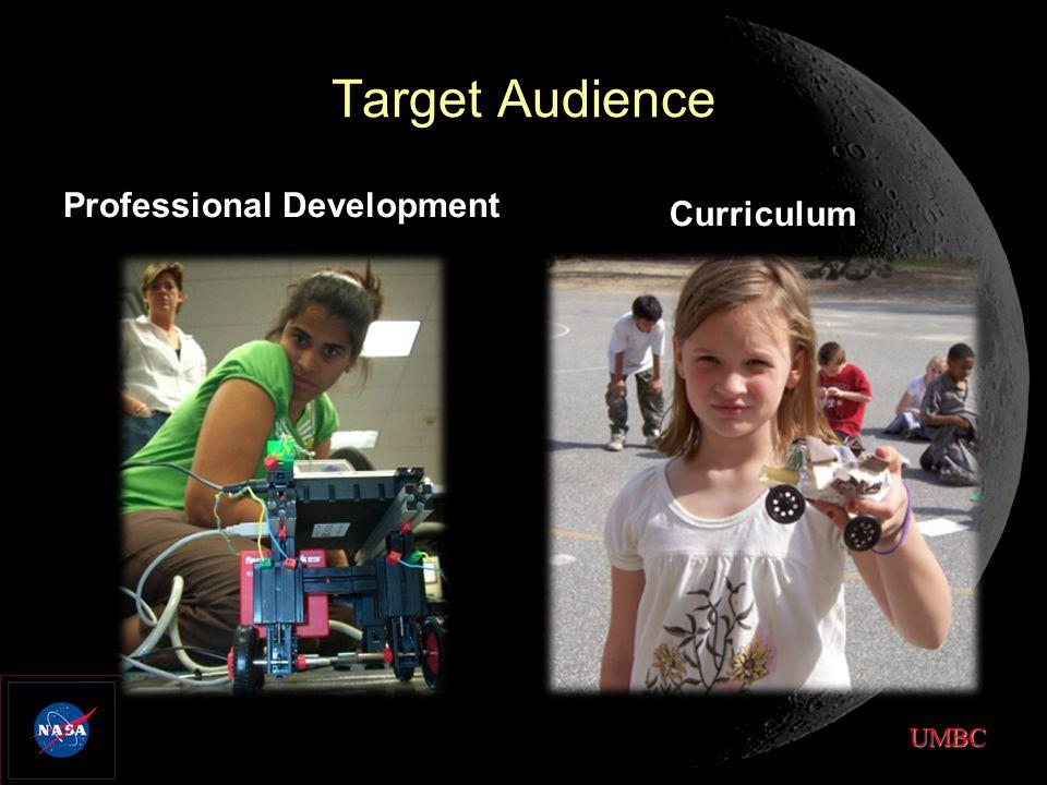 UMBC Target Audience Professional Development Curriculum