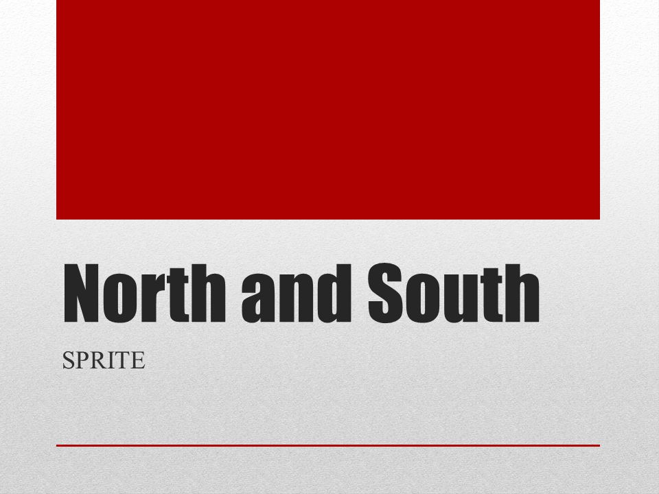 North and South SPRITE