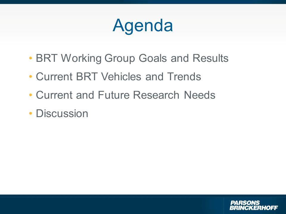 Explosive Growth In BRT