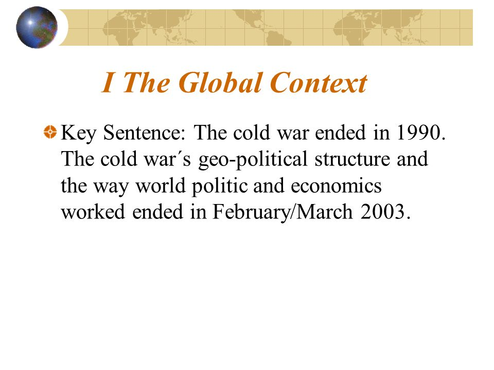 1.The global trends.More egoism, more self centred attitudes, more nationalism.
