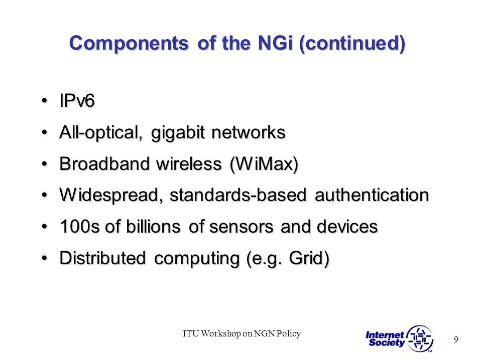 10 ITU Workshop on NGN Policy