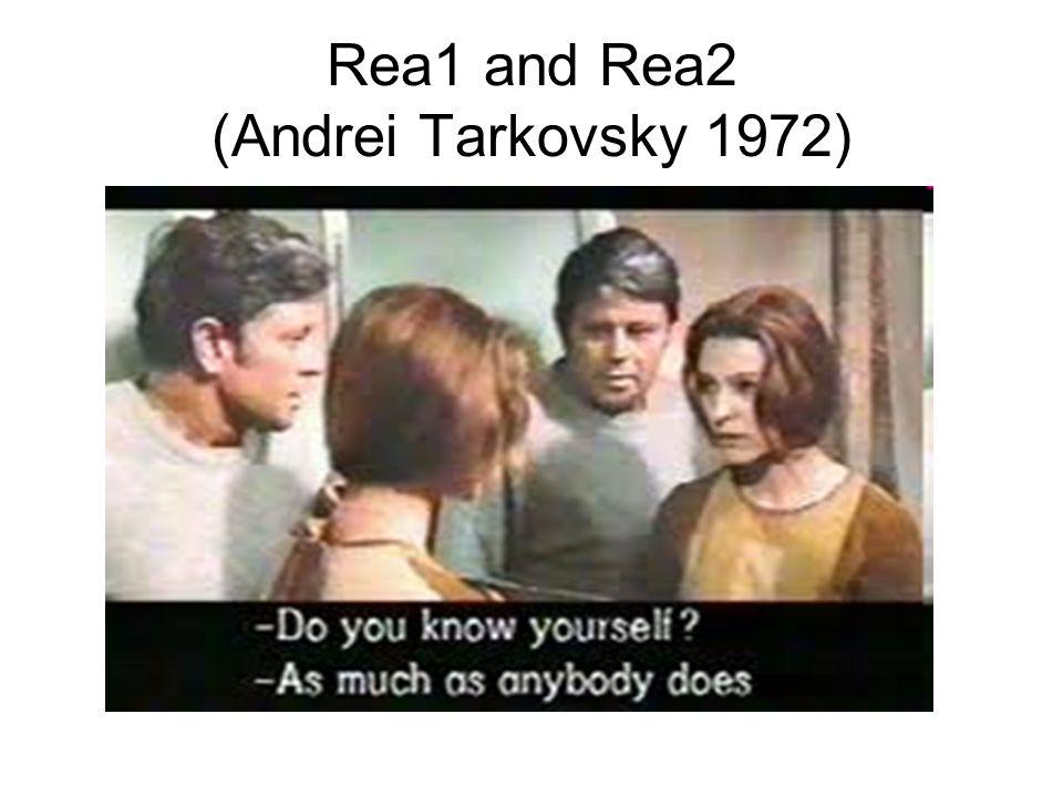 Rea1 and Rea2 (Andrei Tarkovsky 1972)
