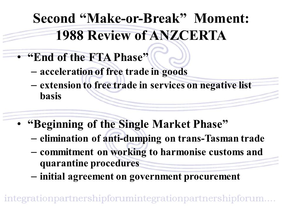 A new approach to the SEM Not identical laws but shared outcomes Shared outcomes could be achieved in any way each country felt necessary or appropriate In August 2009, a Joint Statement of Intent: Single Economic Market Outcomes Framework together with a framework of principles and outcomes proposals