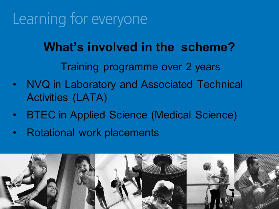 What's involved in the scheme.